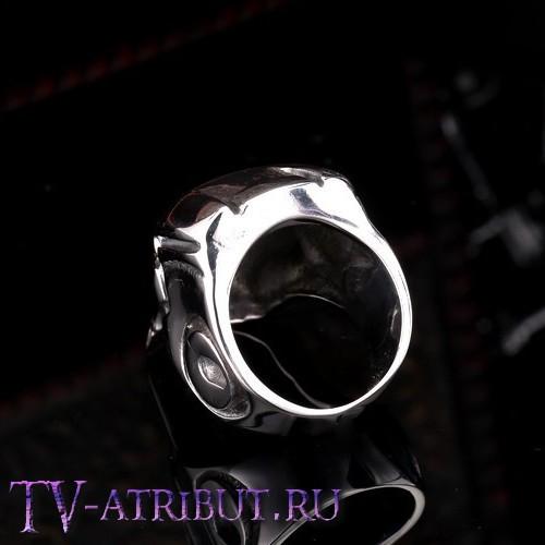 """Кольцо """"Шлем Железного человека"""", сталь"""