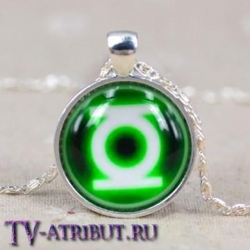 Кулон со знаком Зеленого Фонаря