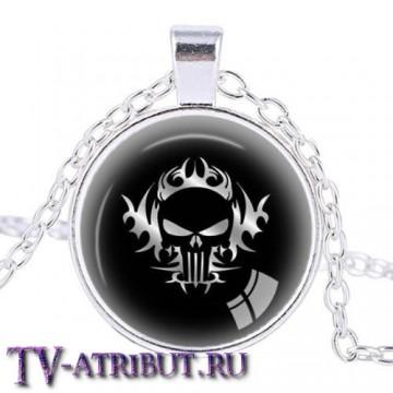 Кулон с изображением знака Карателя (2 варианта)