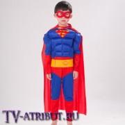 Детский костюм для косплея Супермена