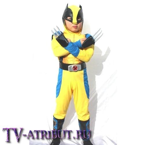 Детский костюм для косплея Росомахи