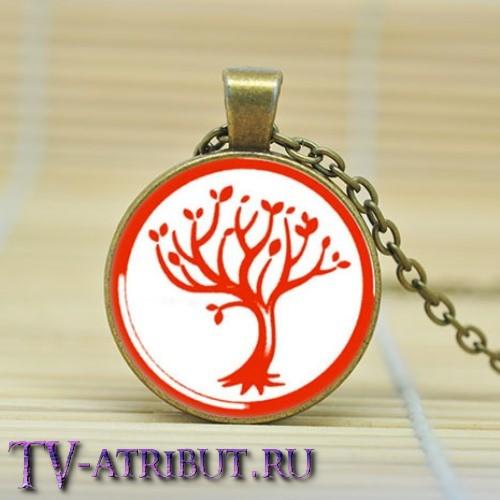 Кулон с деревом фракции Дружелюбия