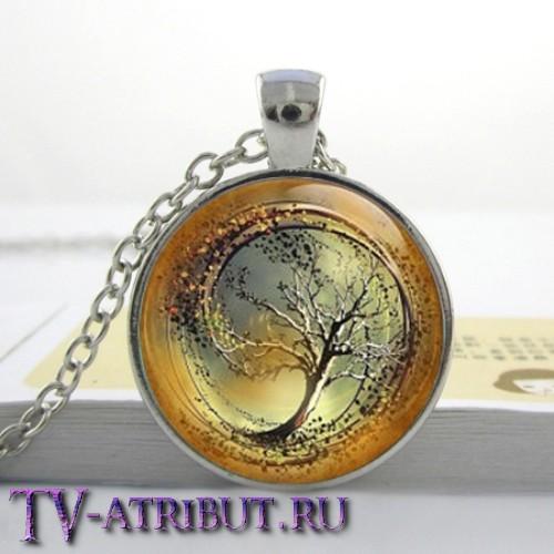 Кулон с эмблемой Дивергента, коричневый