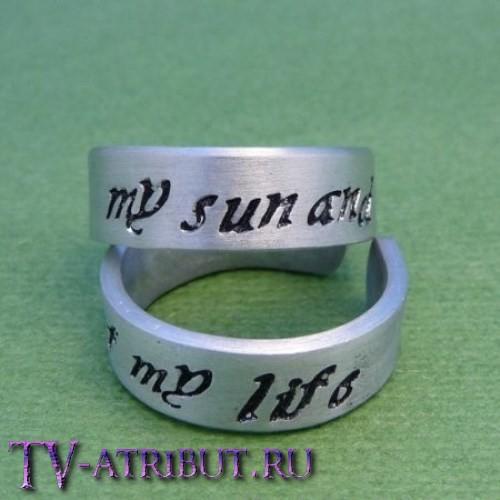 Парные кольца кхала Дрого и Дейнерис Таргариен
