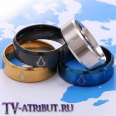 """Стальное кольцо с символом игры """"Assassin's Creed"""""""