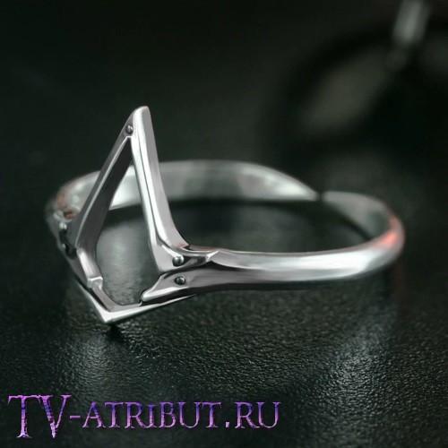 """Серебряное кольцо с символом игры """"Assassin's Creed"""""""
