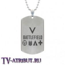 """Стальной жетон по игре """"Battlefield 5"""""""