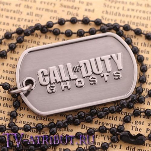 """Кулон-жетон из игры """"Call of Duty: Ghosts"""""""