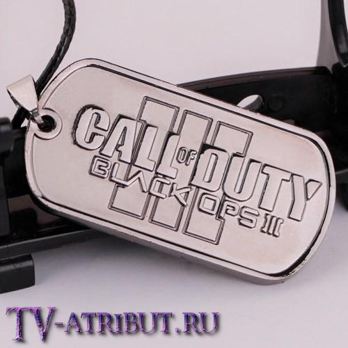 "Кулон-жетон из игры ""Call of Duty: Black Ops III"""
