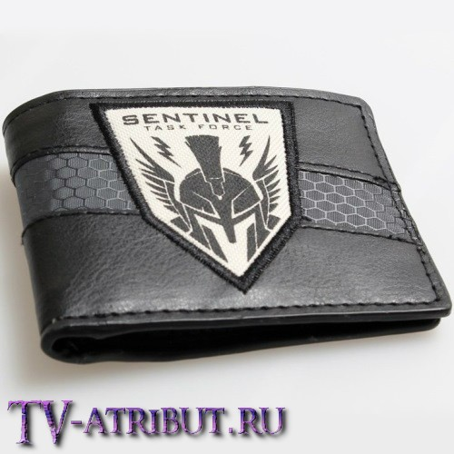"Бумажник с эмблемой ""Sentinel Task Force"""