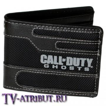 """Бумажник с эмблемой игры """"Call of Duty: Ghosts"""""""