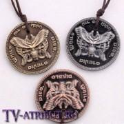 "Кулон-монета ""Diablo"" (3 цвета)"