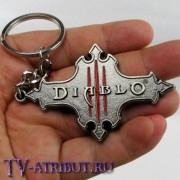 """Брелок с логотипом """"Diablo III"""""""