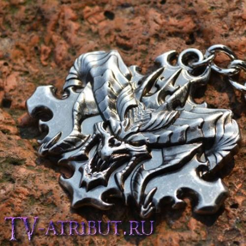 """Брелок с эмблемой """"Diablo III"""""""