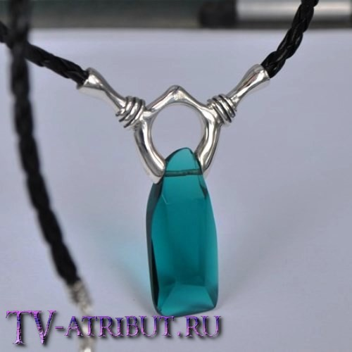 Кулон Вергилия с австрийским кристаллом