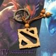 """Брелок с логотипом игры """"Dota 2"""" (2 цвета)"""