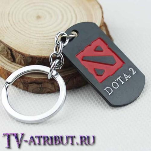 """Брелок-жетон с надписью """"Dota 2"""""""