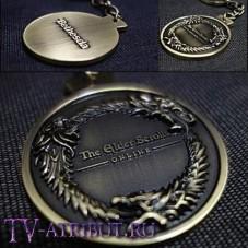 Брелок с изображением дракона-змея из TES: online