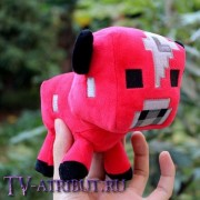"""Плюшевая игрушка """"Грибная корова"""" (15 см)"""