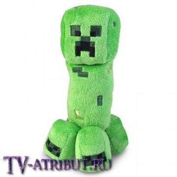 "Плюшевая игрушка ""Крипер"" (Creeper) (19 см)"
