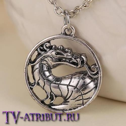 Кулон с драконом Мортал Комбат