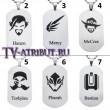 Кулон жетон с символами героев игры (19 вариантов)