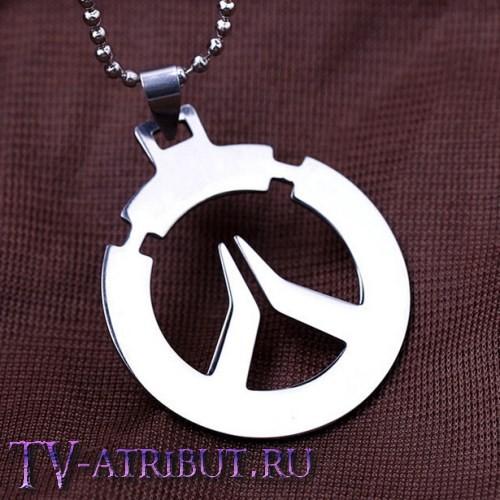 """Кулон в виде лого игры """"Overwatch"""""""