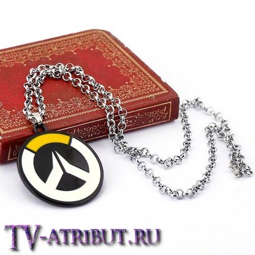 "Кулон с символом игры ""Overwatch"" (2 варианта)"