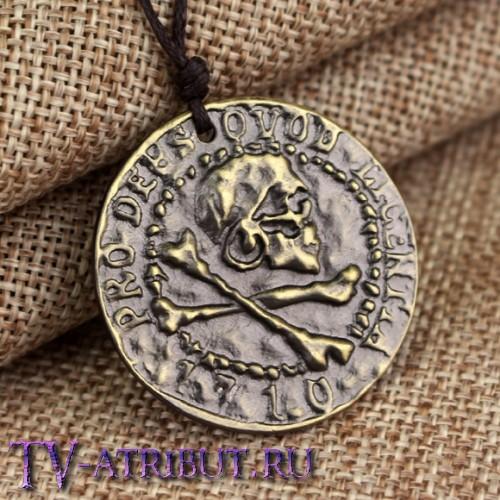 Кулон Нейтана Дрейка в виде античной монеты