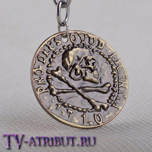 Брелок Нейтана Дрейка в виде античной монеты