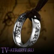 Кулон с кольцом Дрейка, титановая сталь