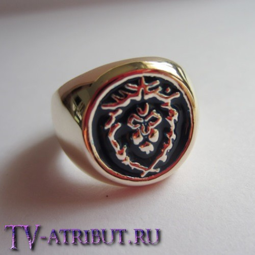 Кольцо со знаком Альянса (люди) (нет в наличии)