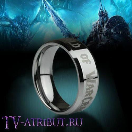 """Кольцо """"World of Warcraft"""", карбид вольфрама"""