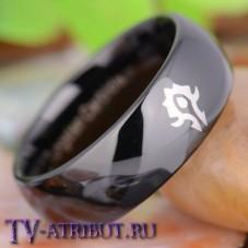 Кольцо с символом Орды, карбид вольфрама