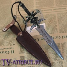 Кинжал в виде меча Фростморна, в кожаных ножнах
