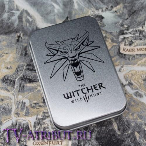 Брелок Ведьмака, официальная версия, в подарочной коробочке