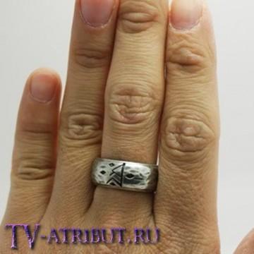 Кольцо Торина Дубощита с руной