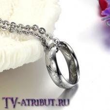 Кулон-кольцо Всевластия из титановой стали