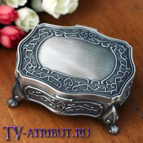 Кулон Арвен с металлической шкатулкой