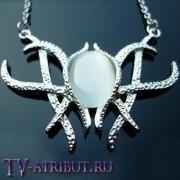 Ожерелье Галадриэль с лунным камнем