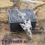 Кулон Арвен, серебро 925 пробы, со шкатулкой