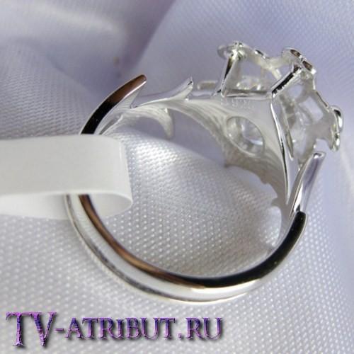 """Кольцо Галадриэль """"Нэнья"""", серебро 925 пробы"""