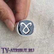 Кольцо с руной Ангельской силы