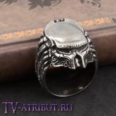 Кольцо в виде Хищника в маске
