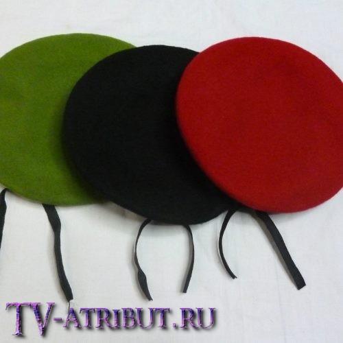 Берет команды Неудержимых (3 цвета)