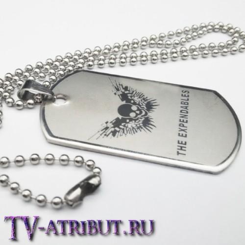 """Кулон-жетон с символом фильмов """"Неудержимые"""""""
