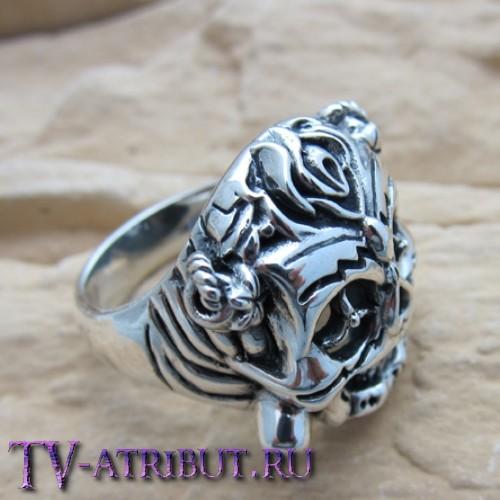 Кольцо Барни Росса, серебро 925 пробы