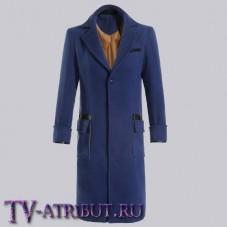 Пальто Ньюта Саламандера, синее