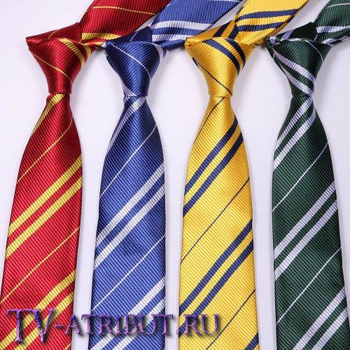Галстук факультетов Школы Хогвартс (4 цвета)