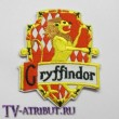 Комплект нашивок факультета Гриффиндор (10 штук)